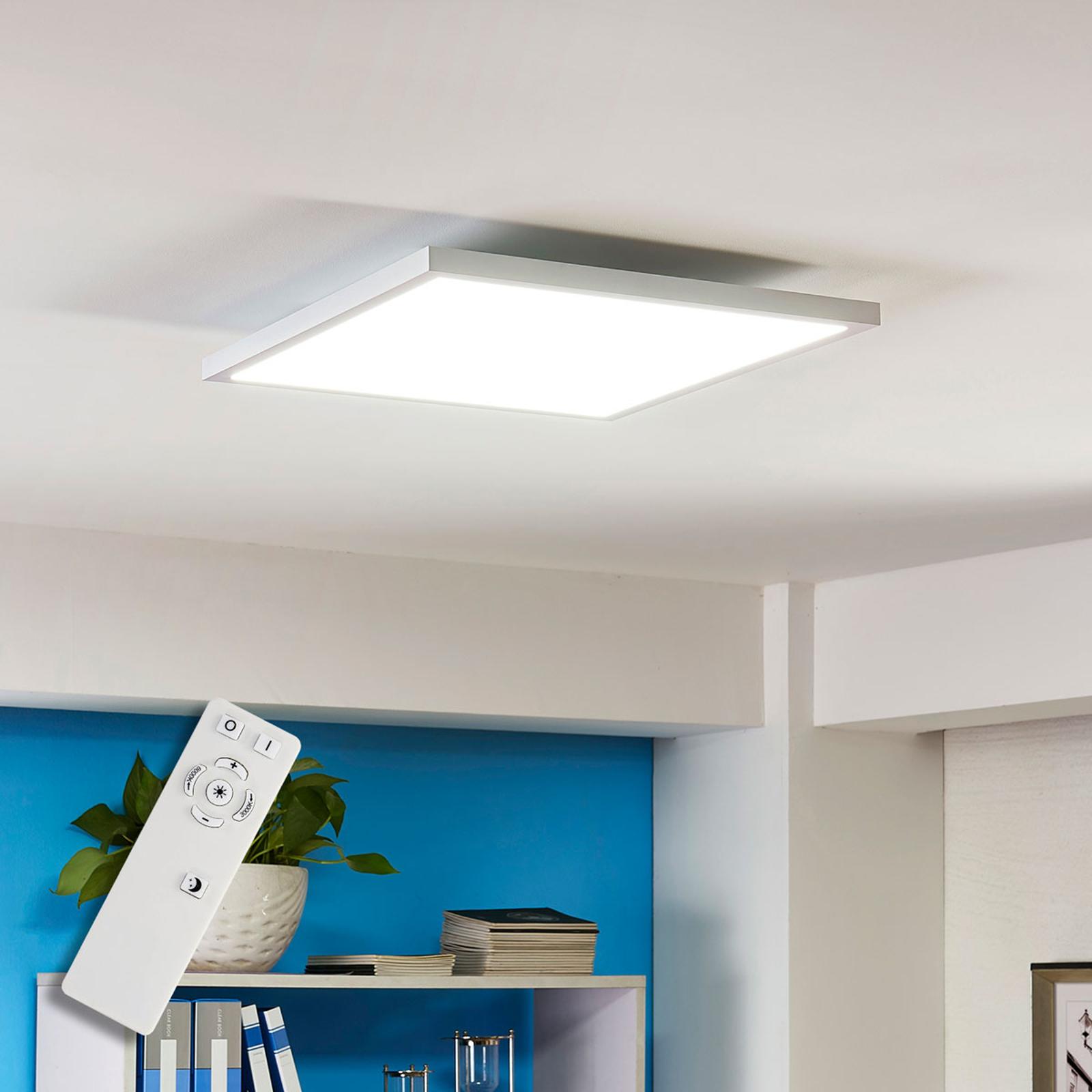 Panneau LED carré Philia, 40 cm, 3000 K - 6000 K