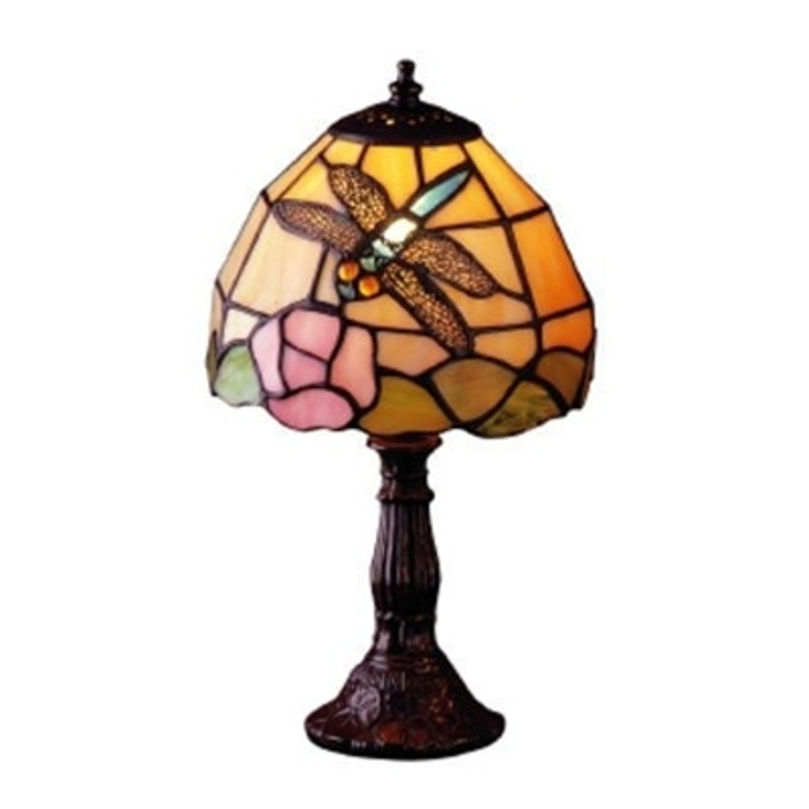 JANNEKA bordlampe i Tiffany-stil