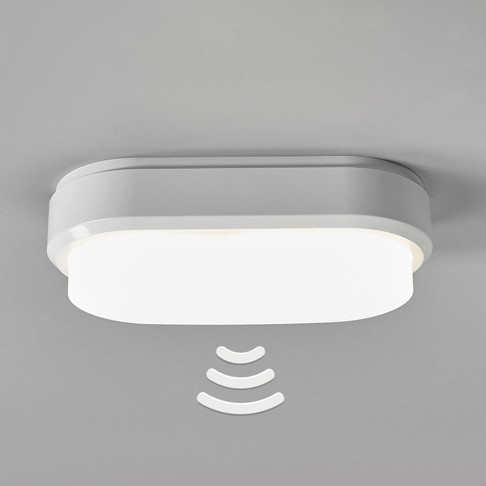 Bulkhead - ovalen LED plafondlamp met sensor