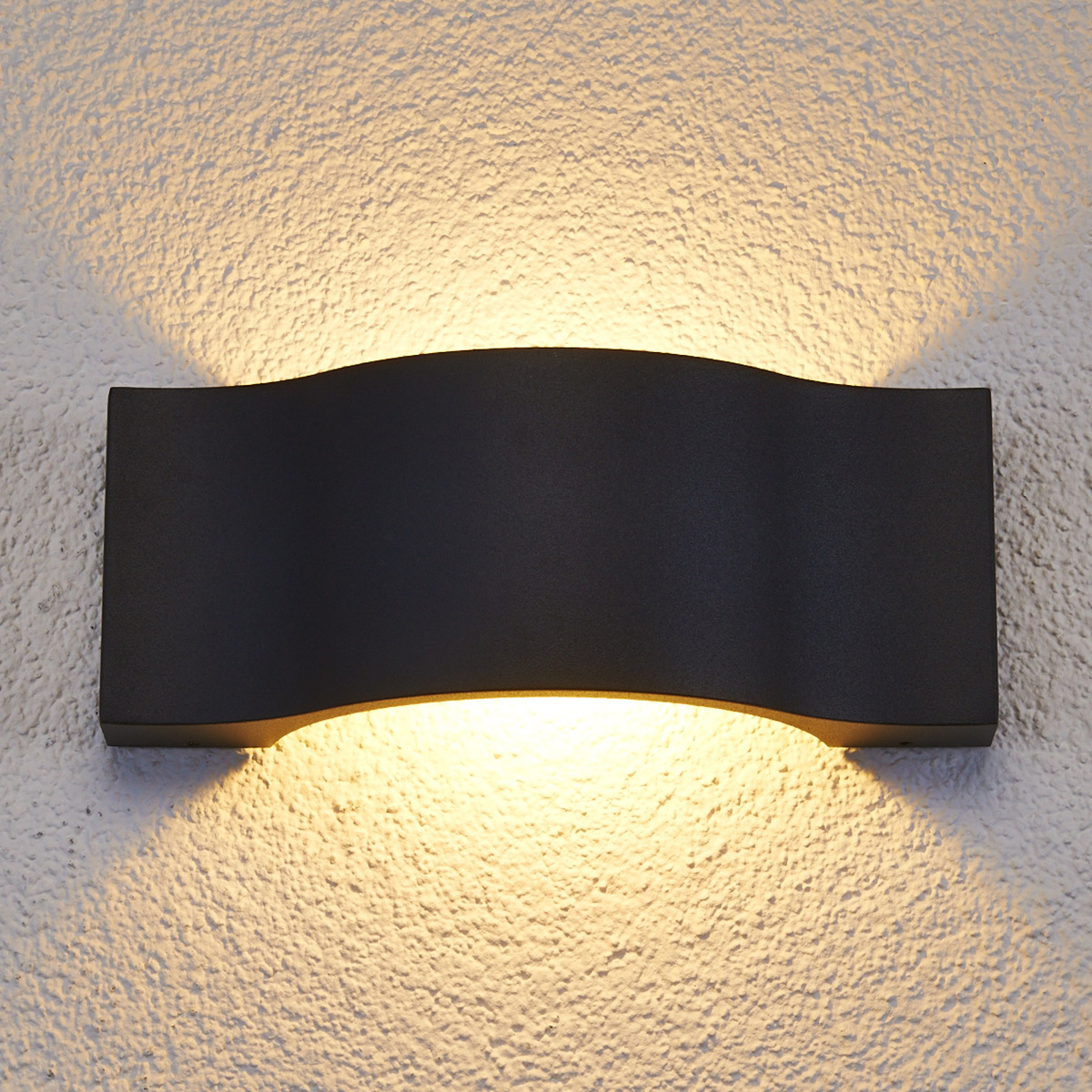 Elegante led-buitenwandlamp Jace