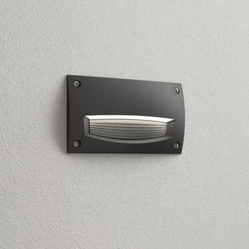 Leti 200-HS LED indbygningslampe, sort opal, CCT