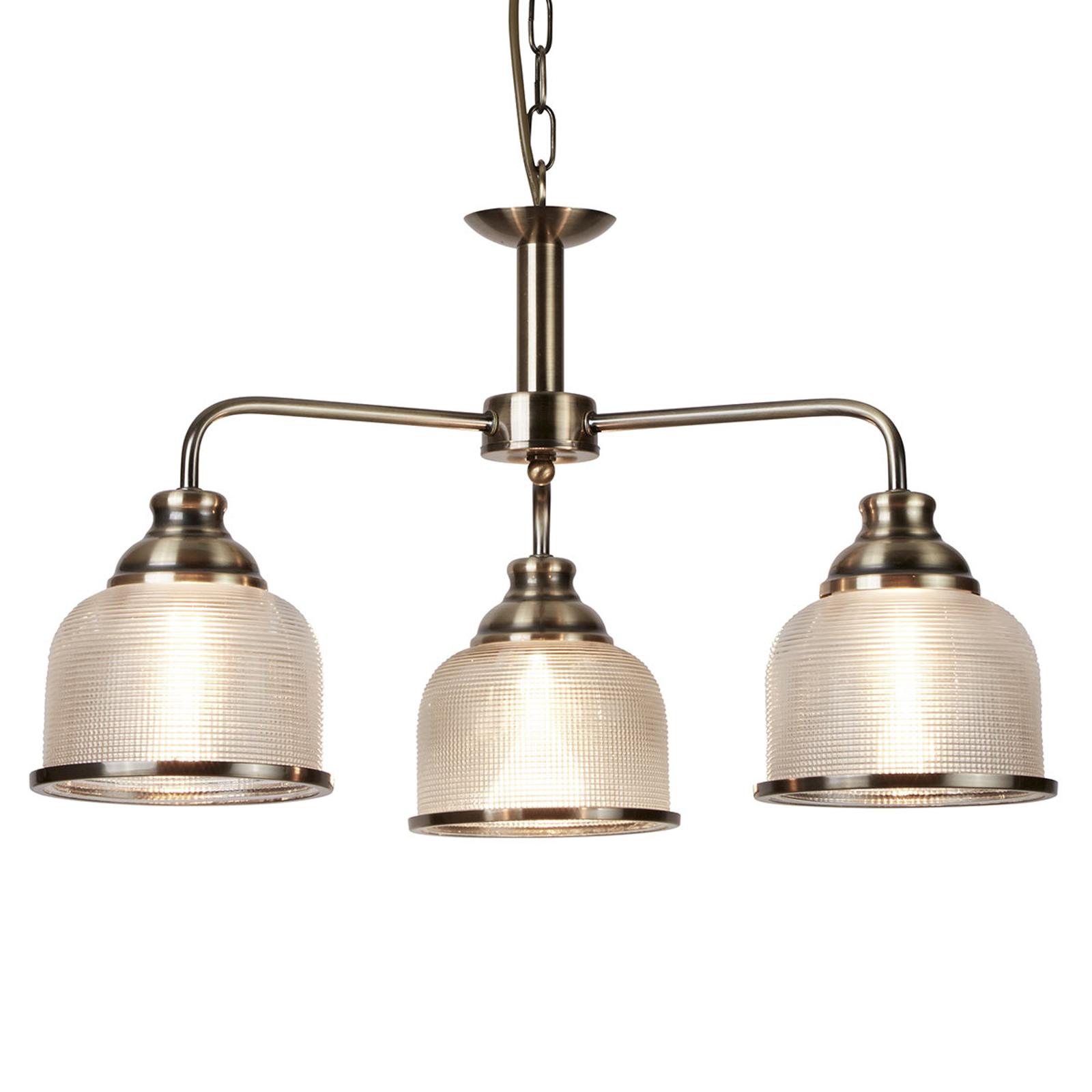 Klasyczna-antyczna lampa wisząca Bistro II