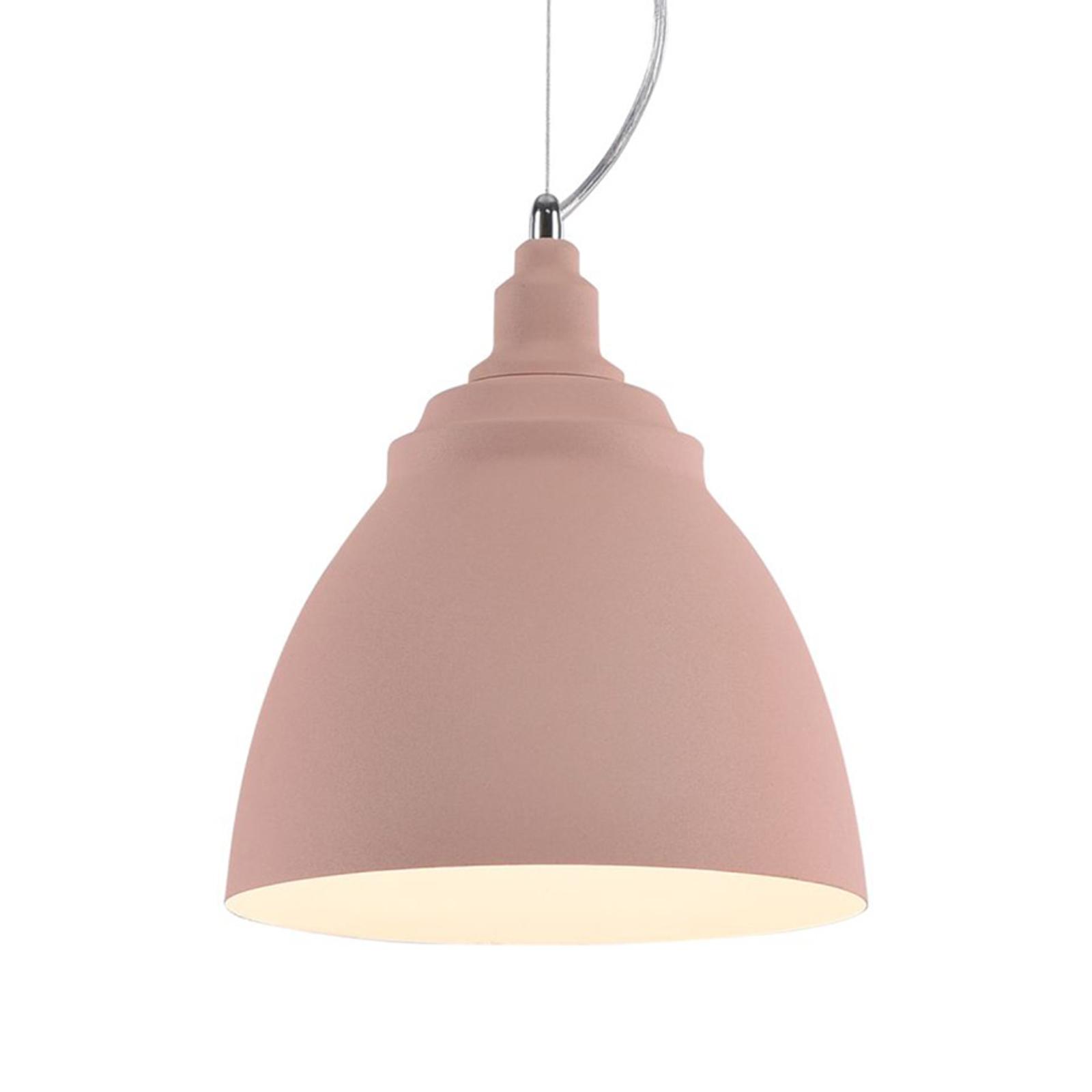 Lampa wisząca Bellevue, różowa