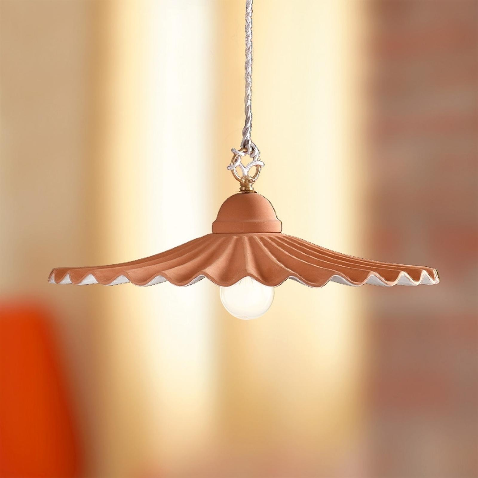 Lampa wisząca ARGILLA w stylu dworkowym 43 cm