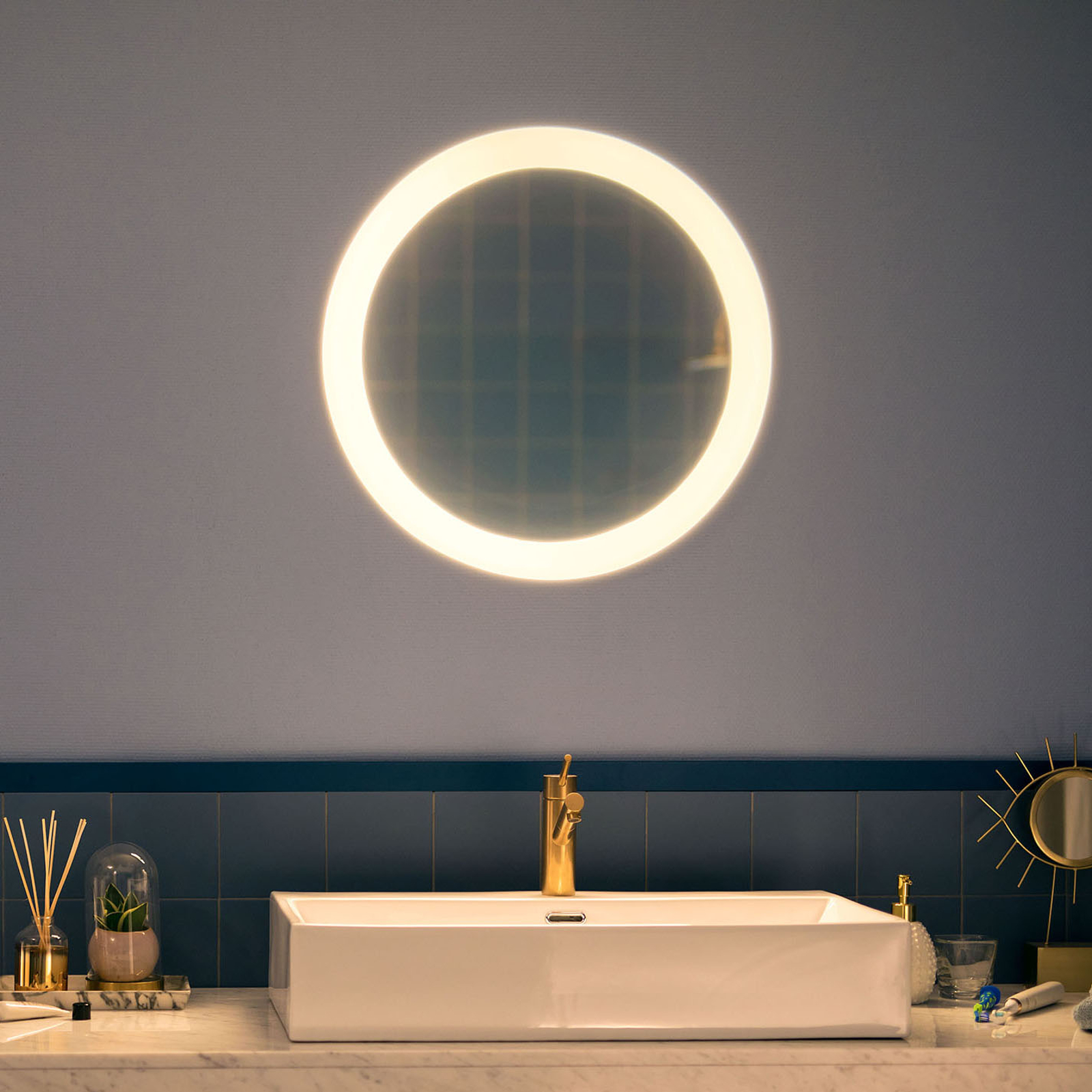 Philips Hue White Ambiance Adore LED-badspiegel