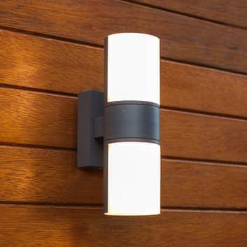 Cyra-LED-ulkoseinävalaisin, 2-lamppuinen