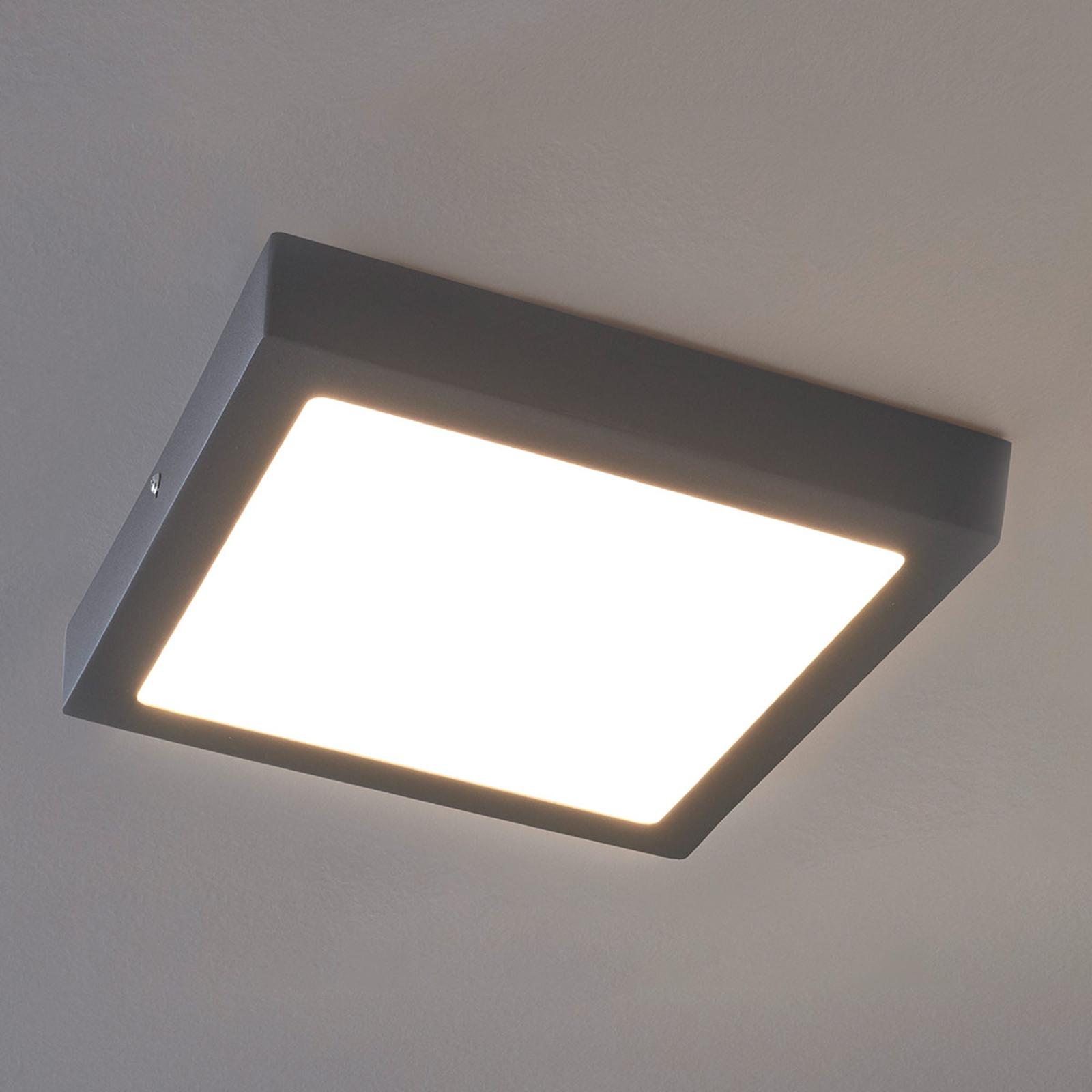 Lampa sufitowa LED Argolis na zewnątrz