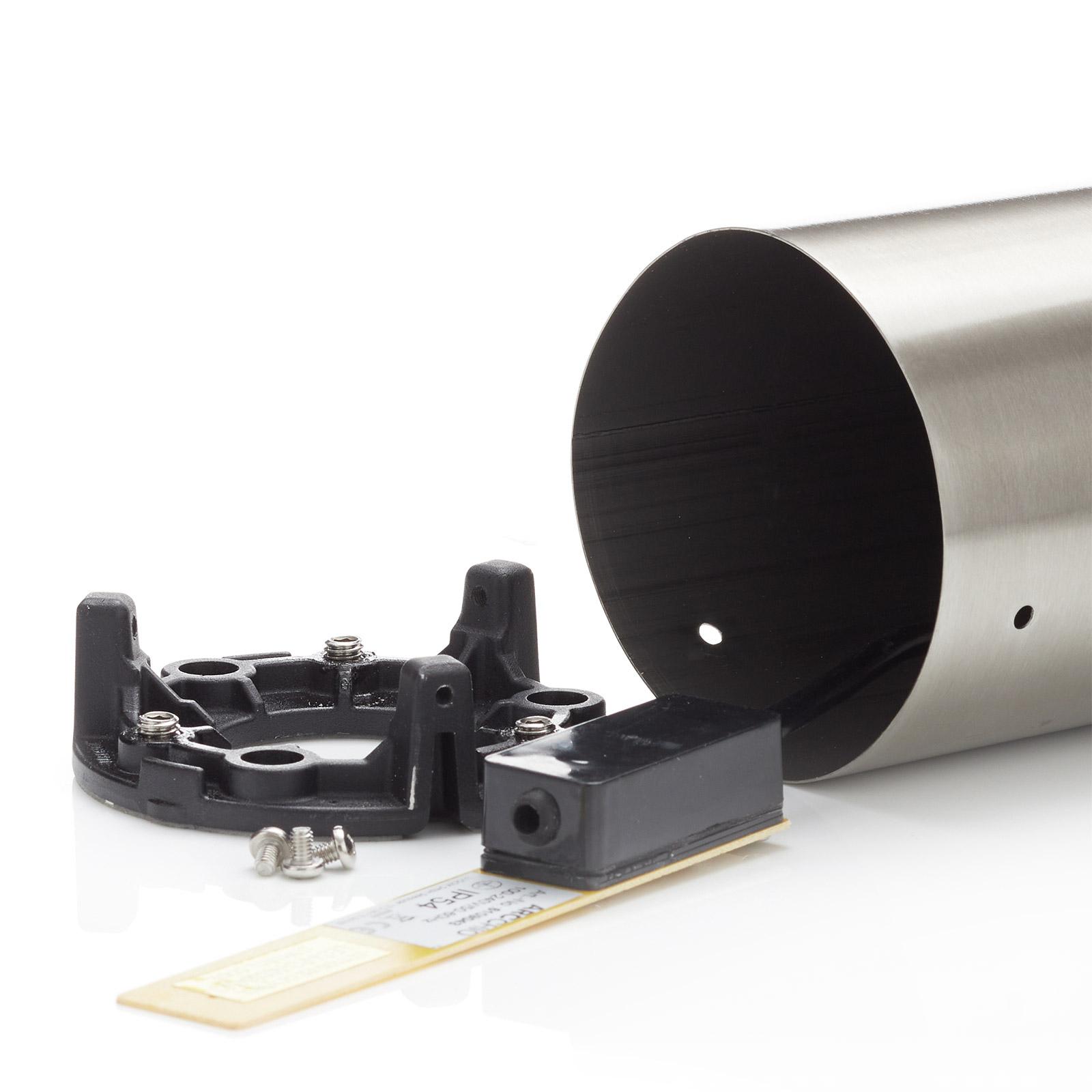 Arcchio Lica baliza de acero inoxidable, 50 cm