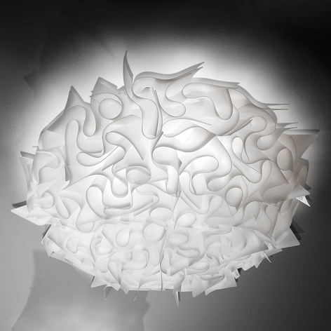 Slamp Veli Designer-Deckenleuchte, Ø 78cm, opal