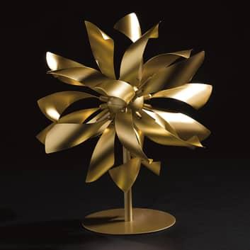 Lampa stołowa Bloom kolory złota