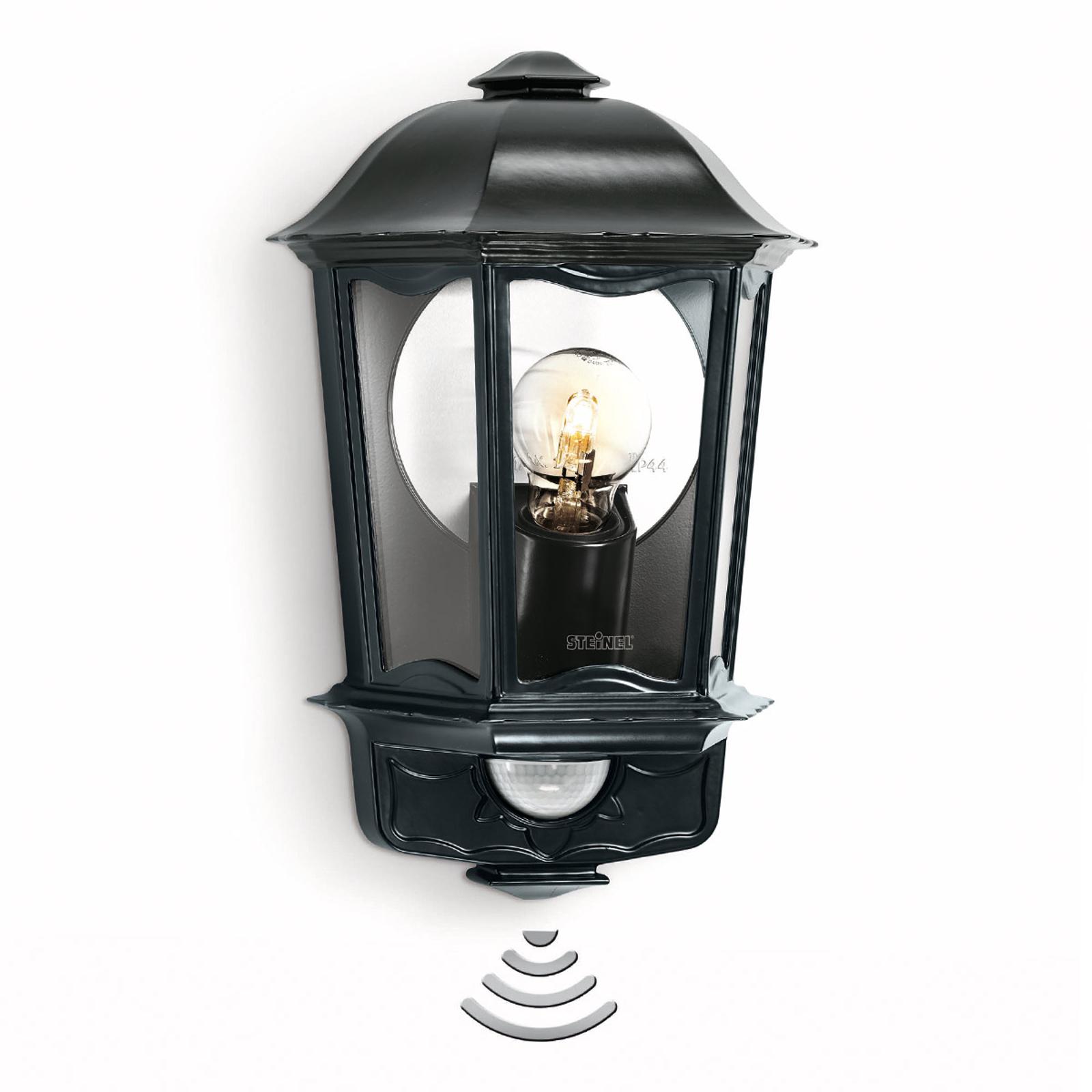 STEINEL L 190 Sensor-Außenwandlampe schwarz
