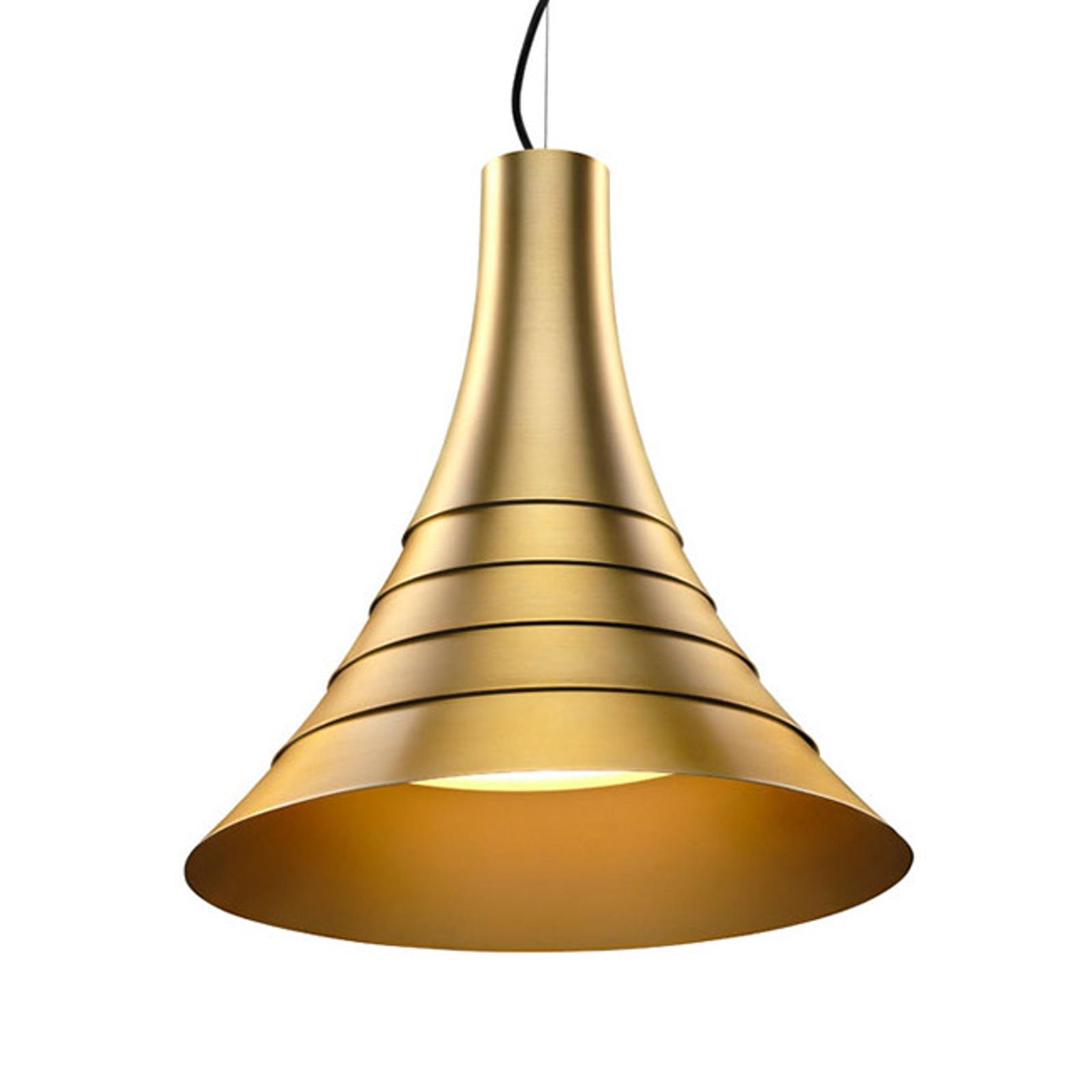 SLV Bato 45 lampa wisząca LED mosiądz Ø45cm
