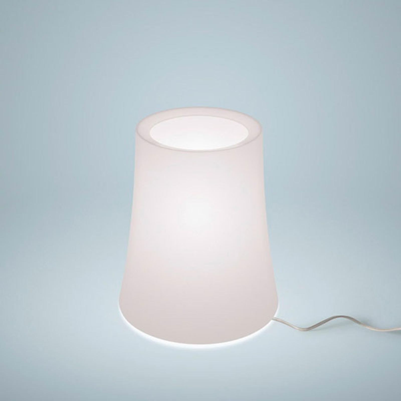 Foscarini Birdie Zero lampa stołowa, wysokość 20cm