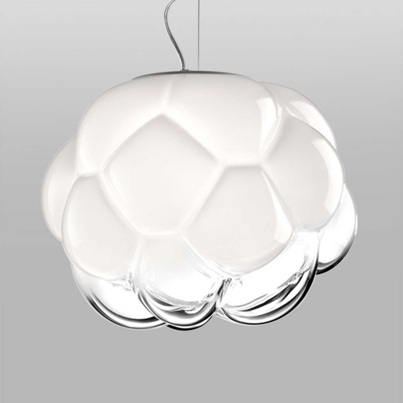 Fabbian Cloudy - LED-Hängeleuchte Wolkenform 40 cm