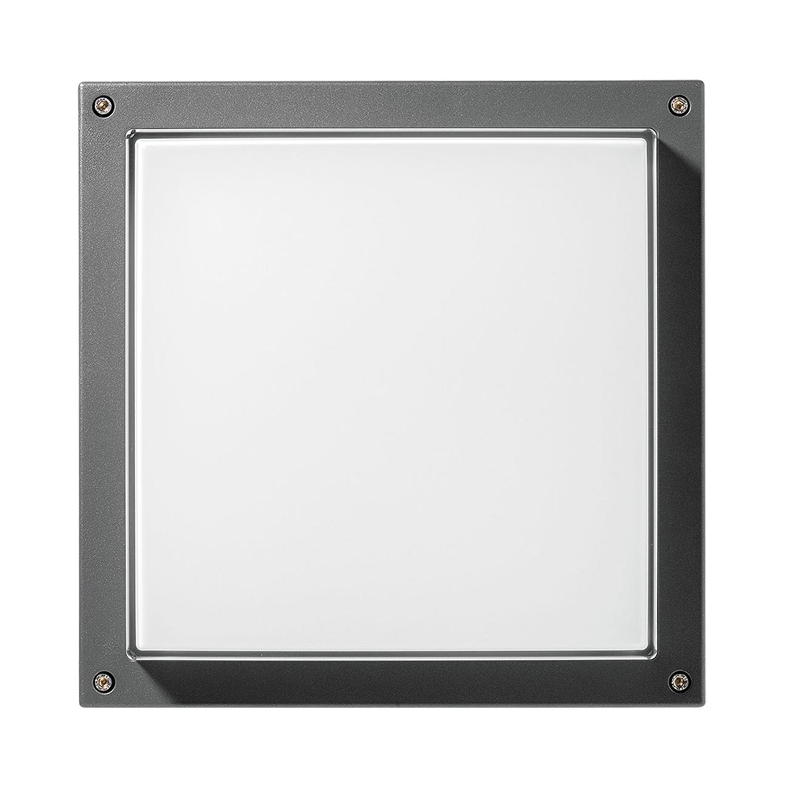 Wandlampe Bliz Square 40 3.000K anthrazit dimmbar