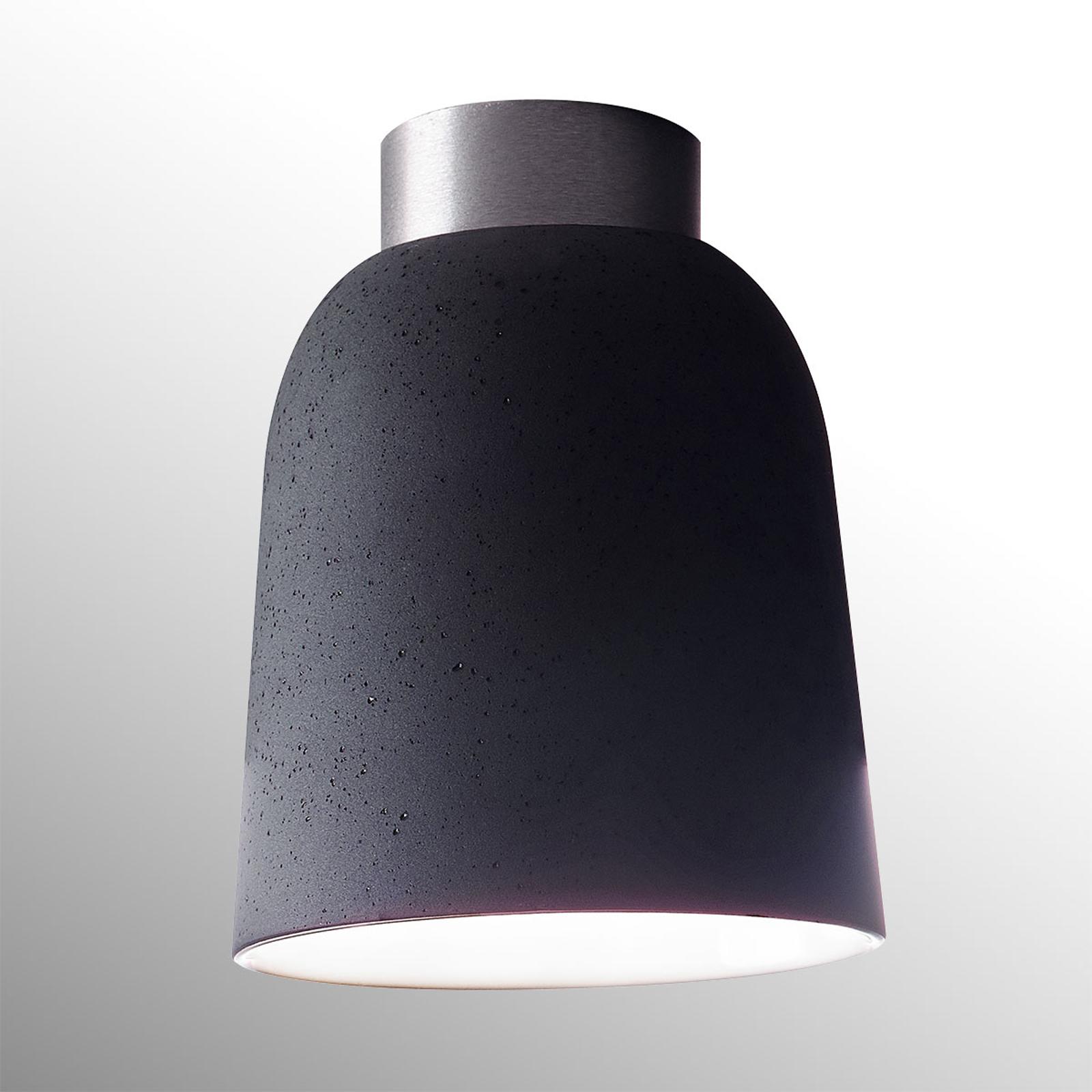Casablanca Clavio Keramik-Deckenleuchte, grau kaufen