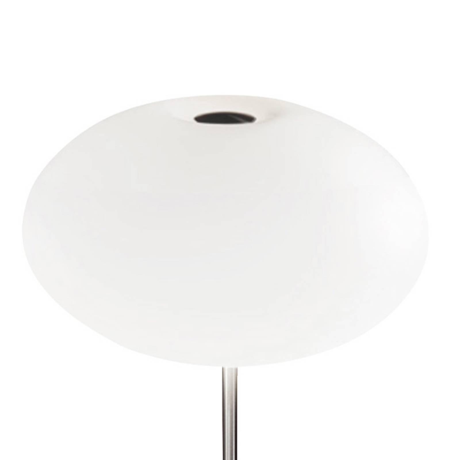 Casablanca Aih tafellamp, Ø 28cm wit mat