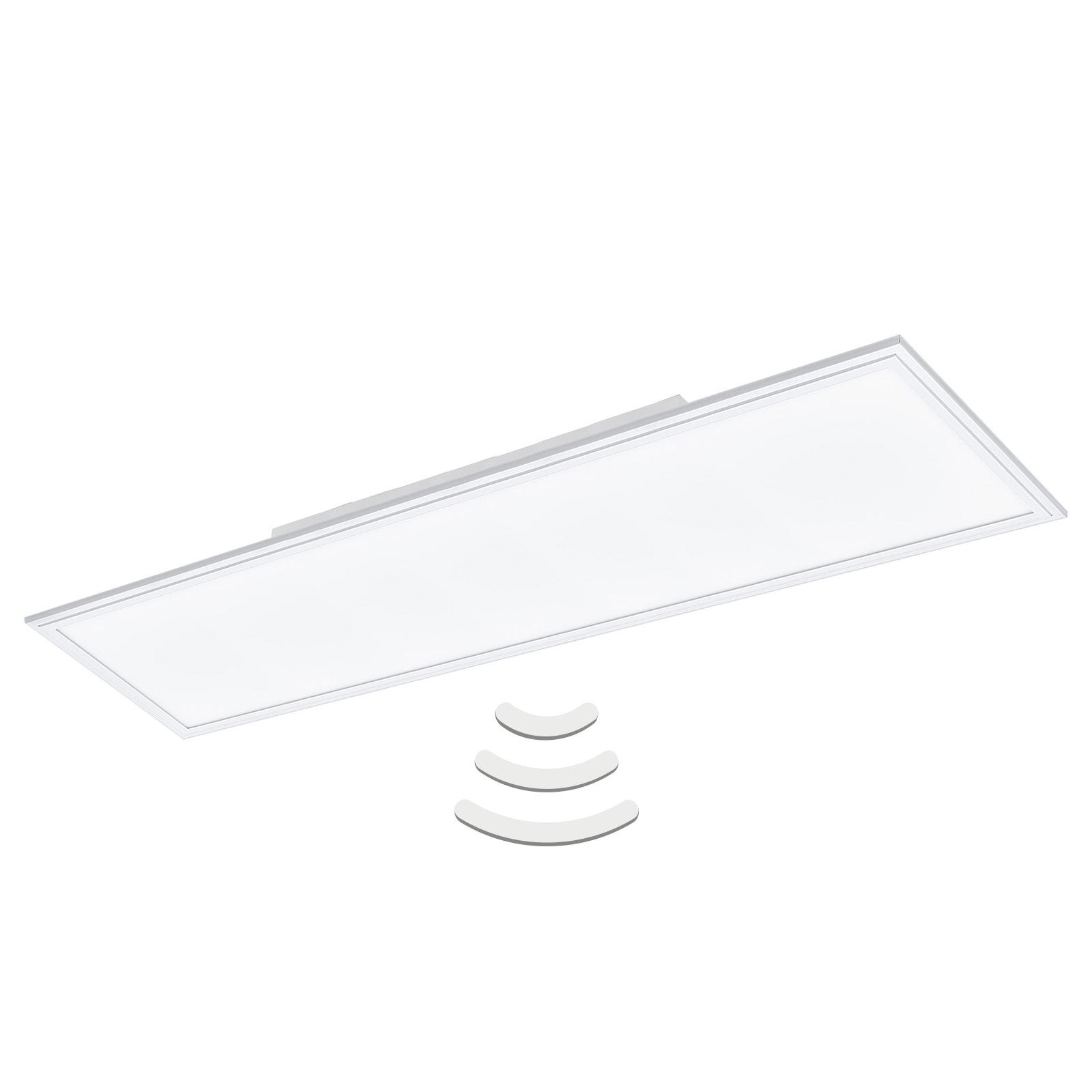 LED-Deckenlampe Salobrena-M 119,5x29,5 cm Sensor