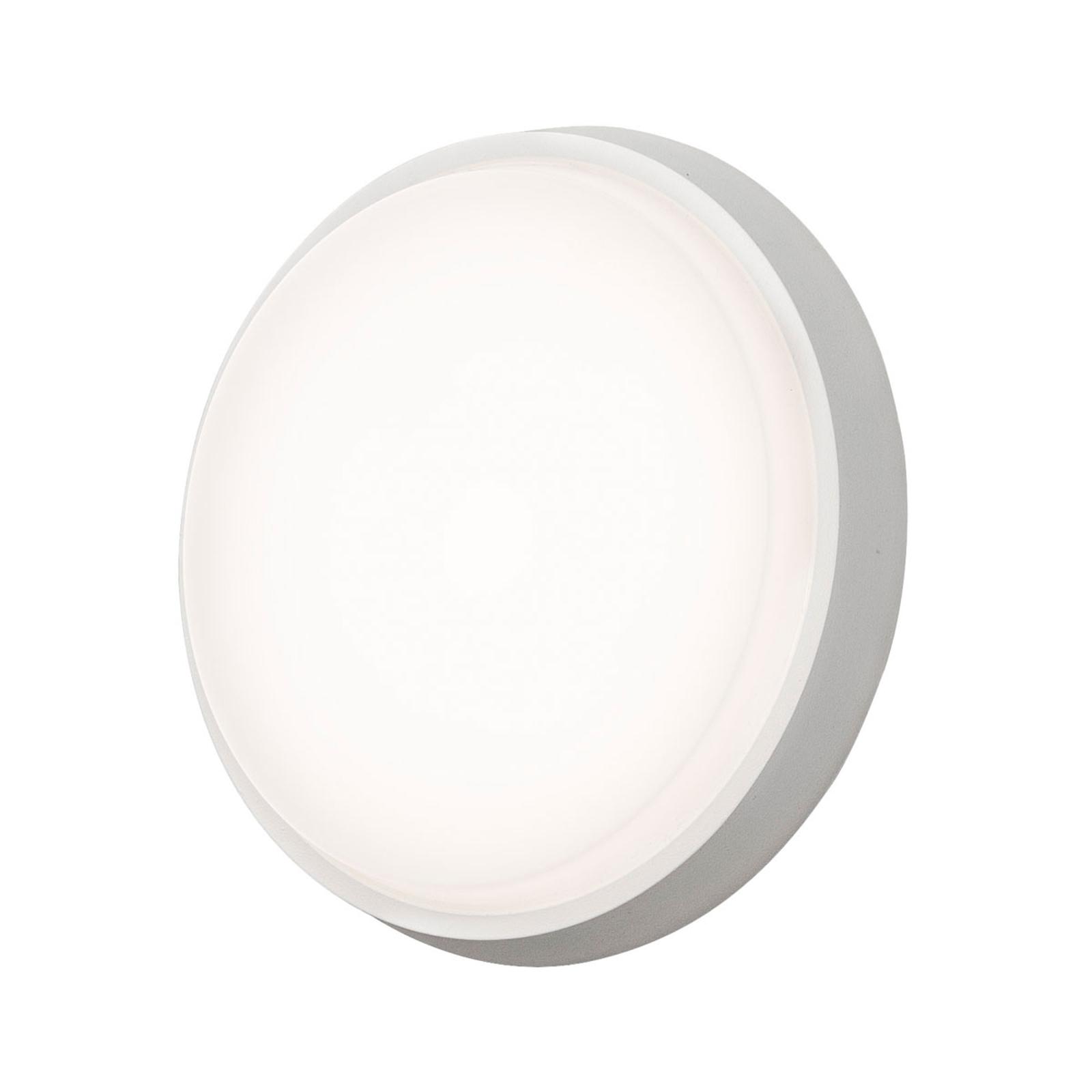 Applique d'extérieur LED Cesena, ronde