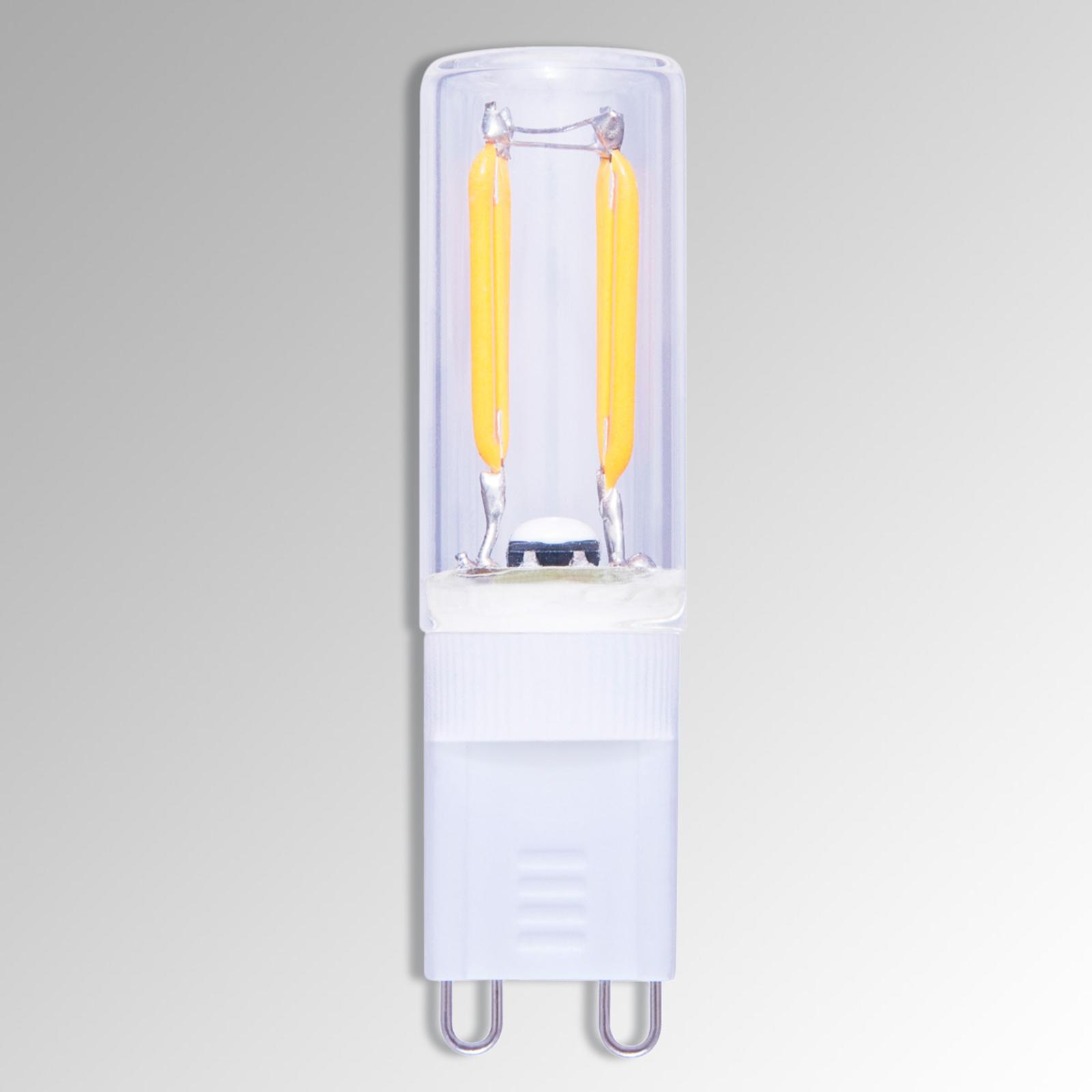 G9 1,5W 822 LED-Stiftlampe in Kohlefadenoptik