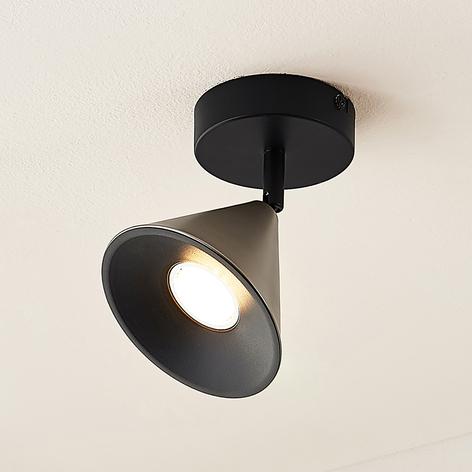 Lucande Kartio 1 žárovka, naklápěcí, nikl
