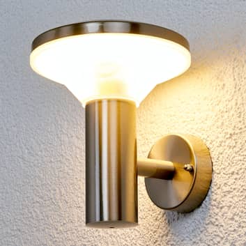 Edelstahl-Außenwandleuchte Jiyan mit LED