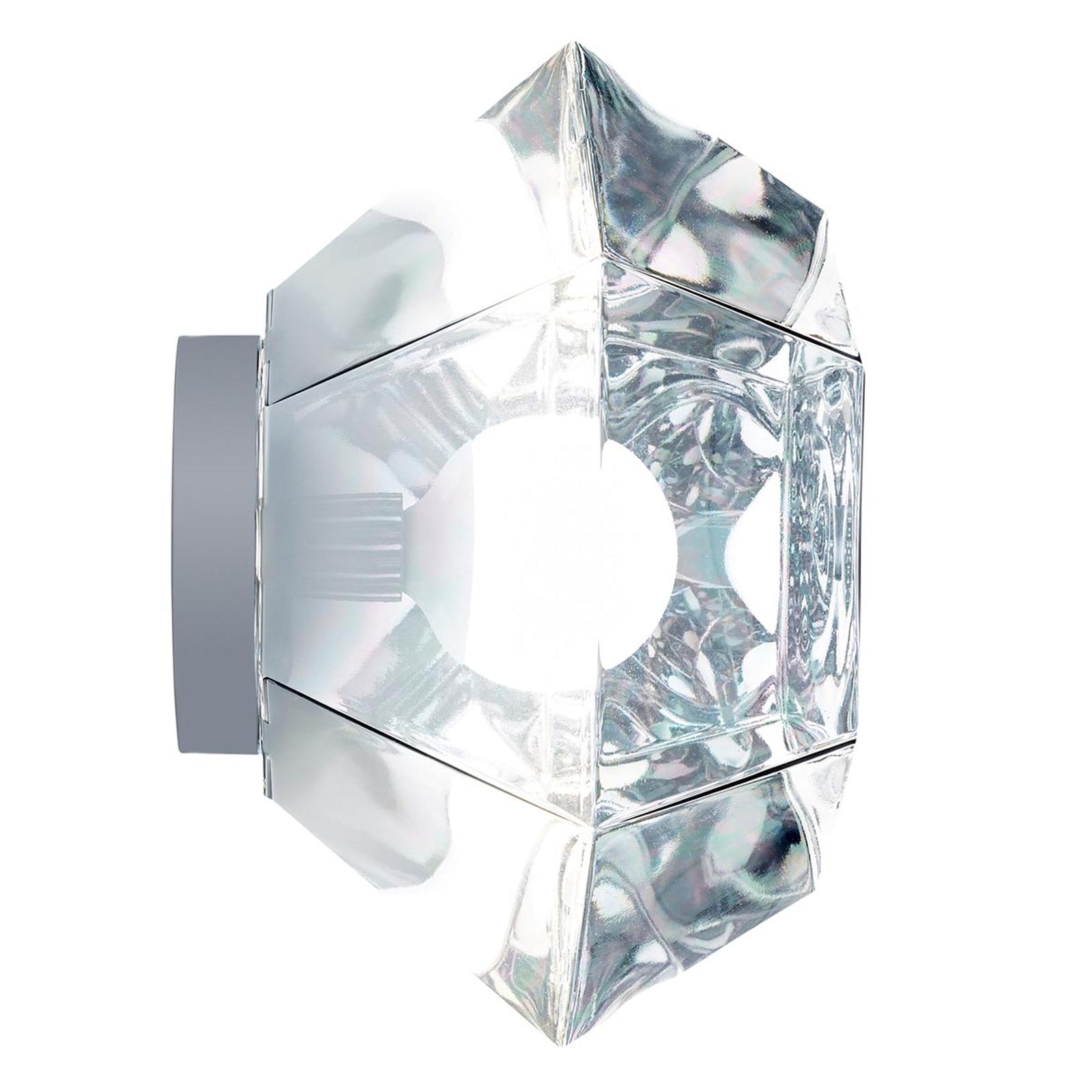 Cut Surface - taklampe i krom, 6 lys
