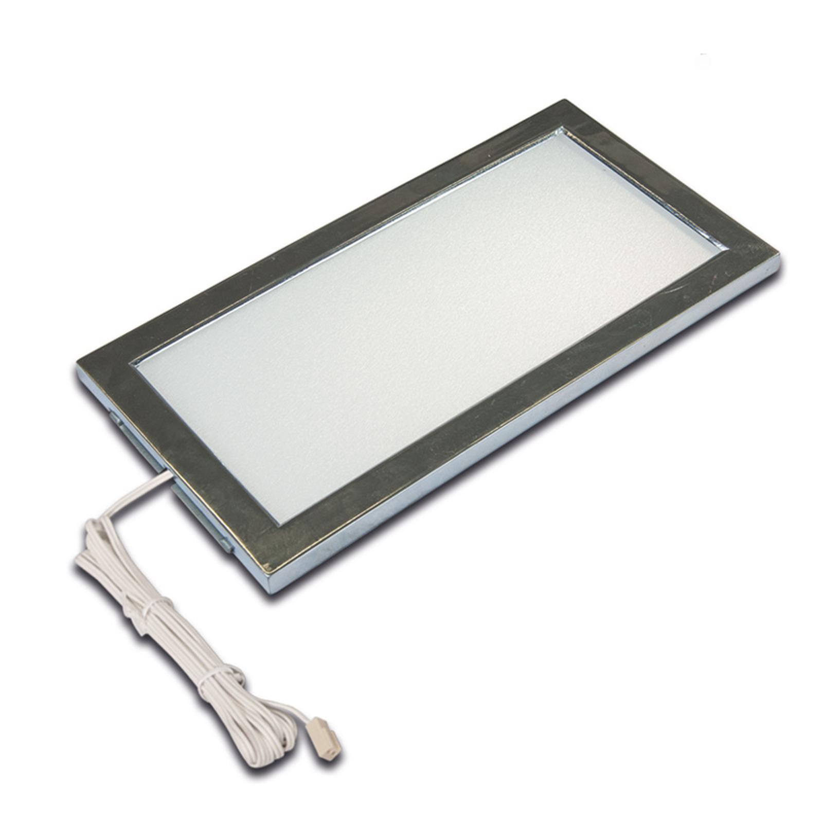 LED-bänklampa Sky rostfritt stål 4 000 K
