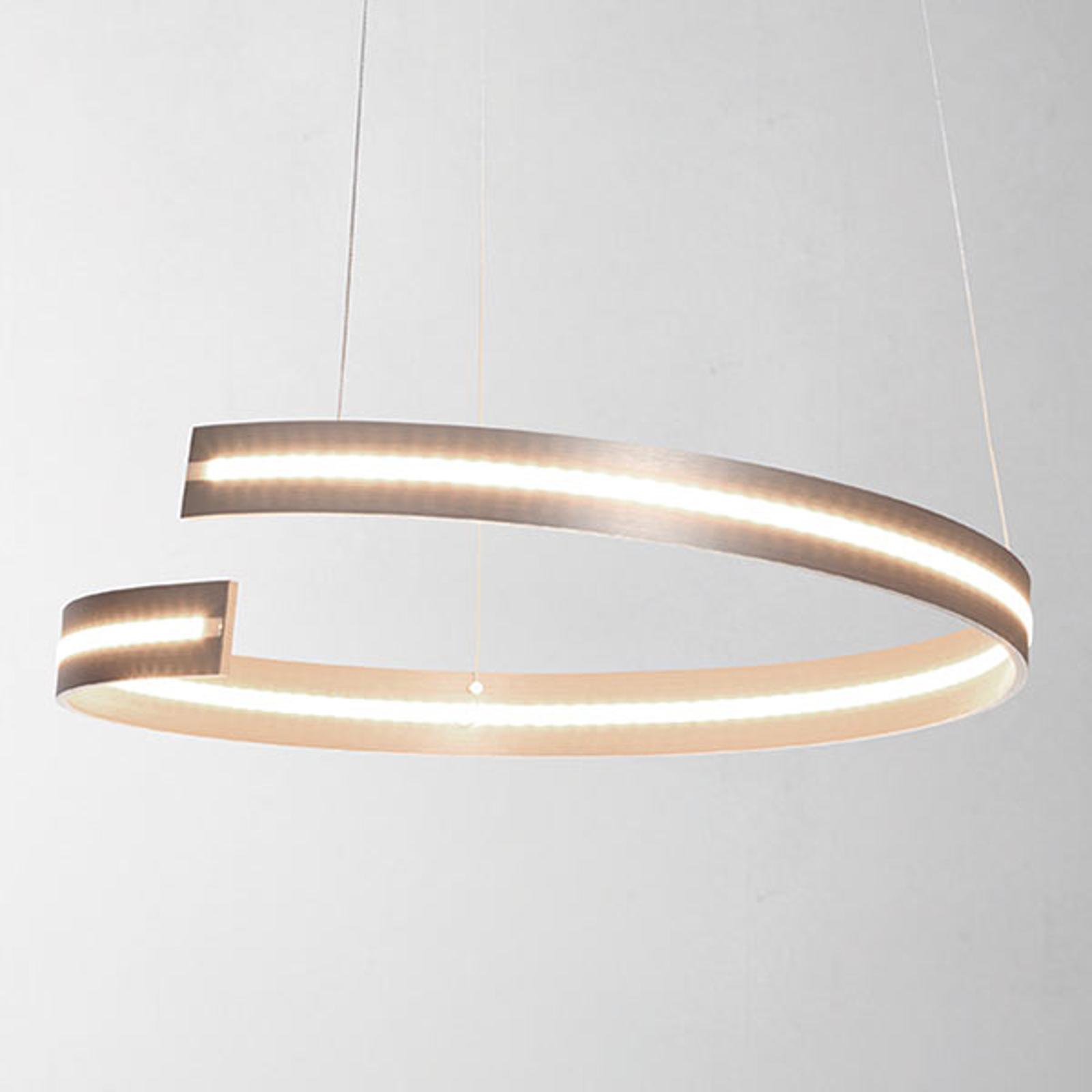 Bopp Break - LED hanglamp, 40 cm alu