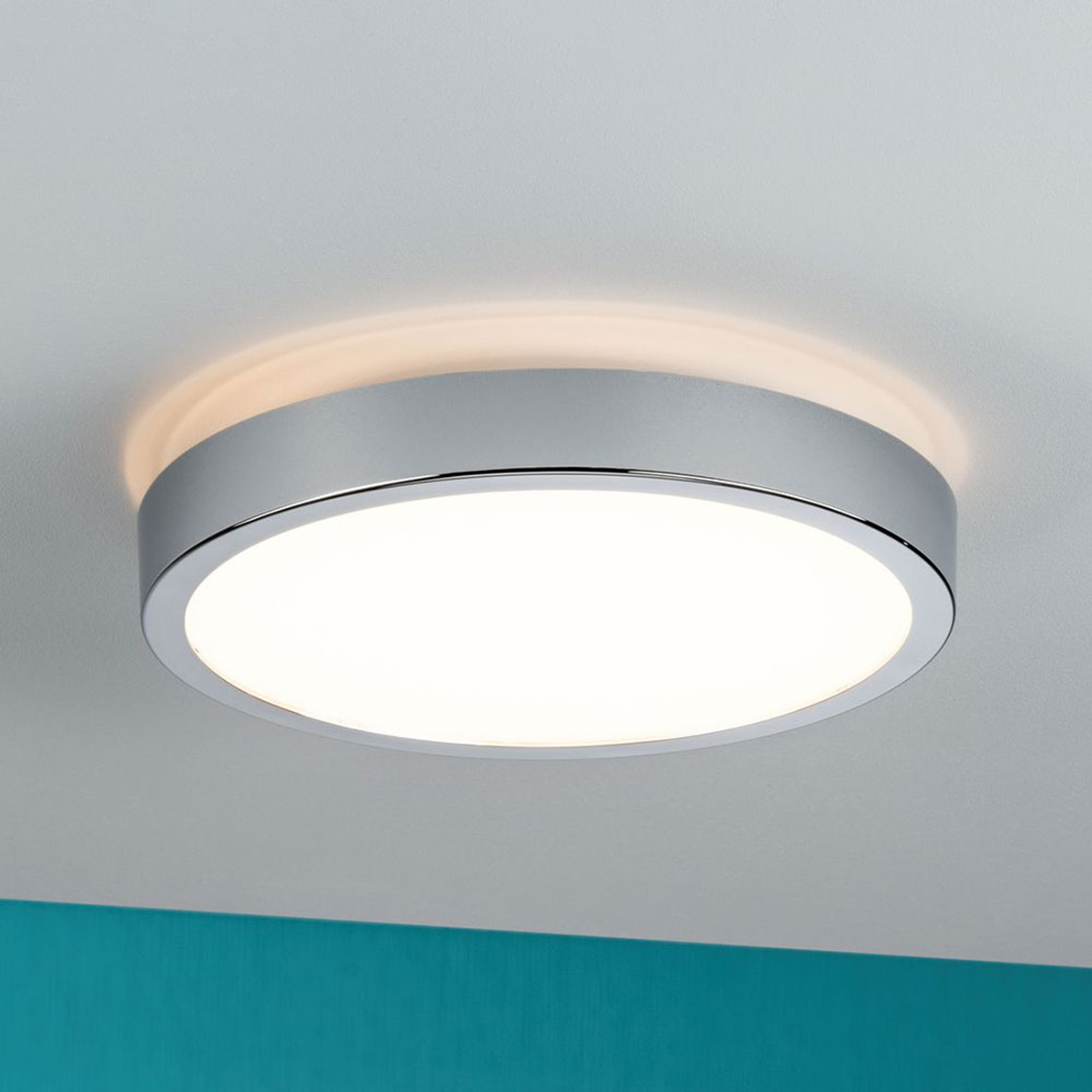 Paulmann Aviar plafonnier LED, IP44, dimmable