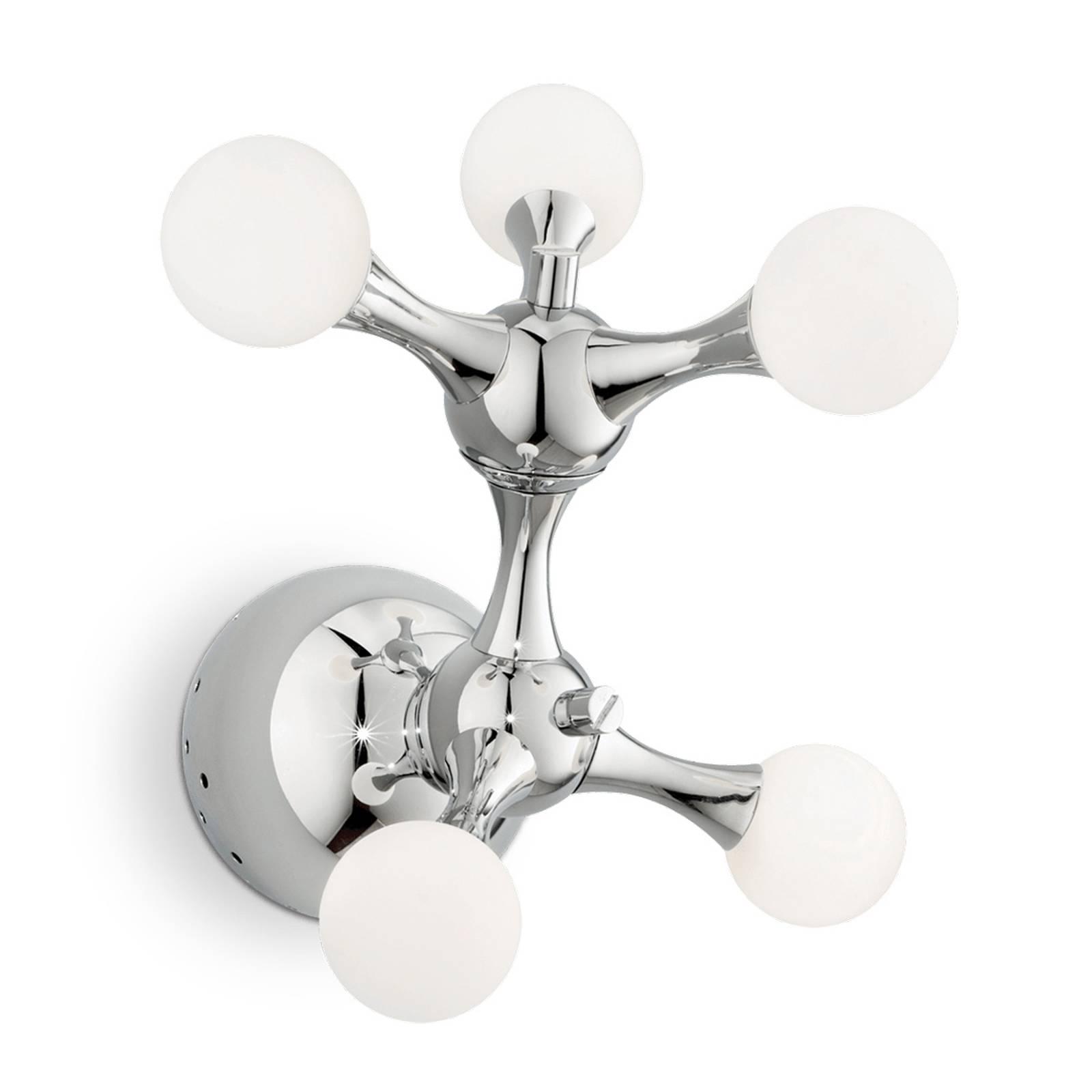 Wandlamp Nodi Bianco 5-lamps G4