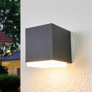 BEGA 33405K3 LED-Außenwandlampe grafit 3.000K down
