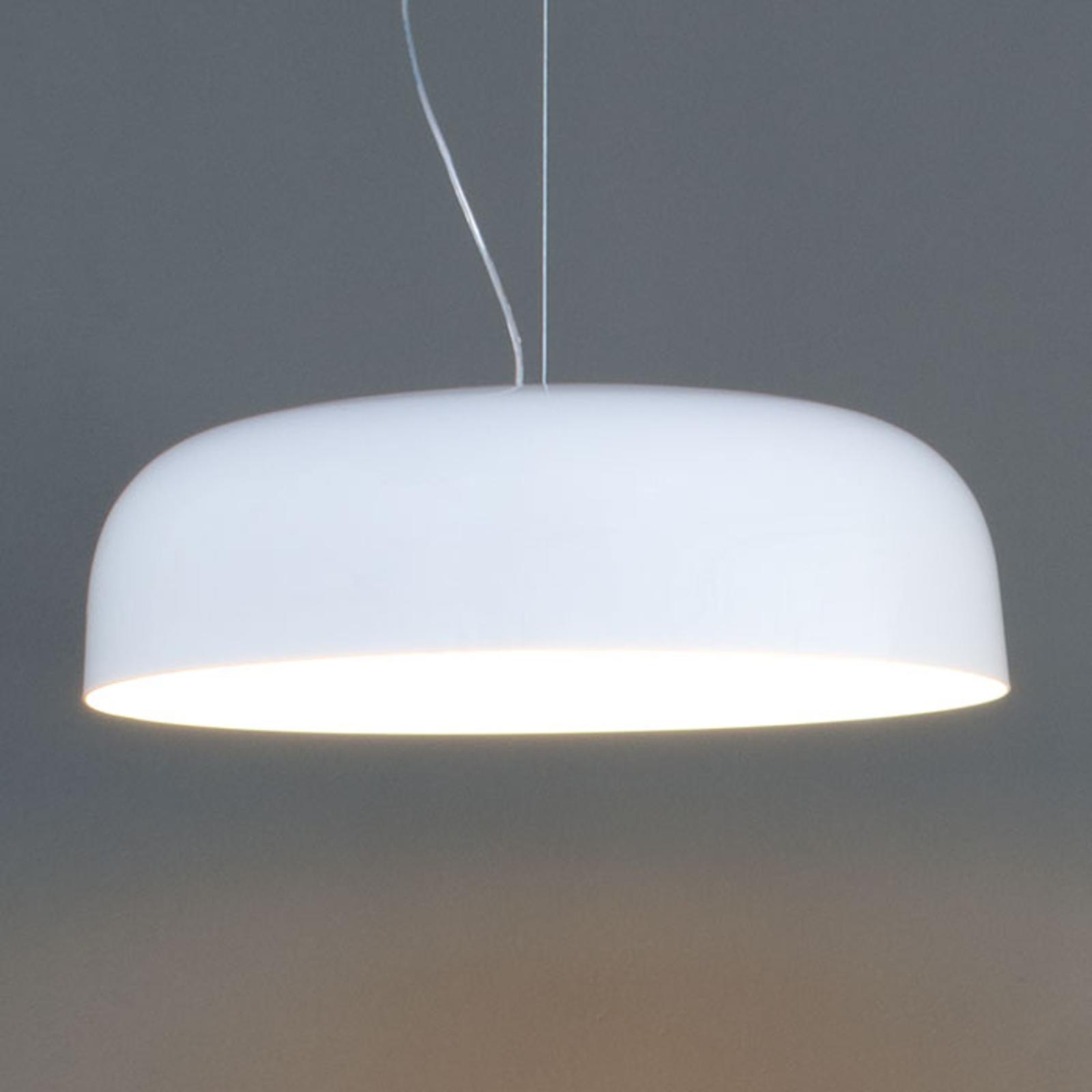 Szykowna lampa wisząca CANOPY, 60 cm, biała