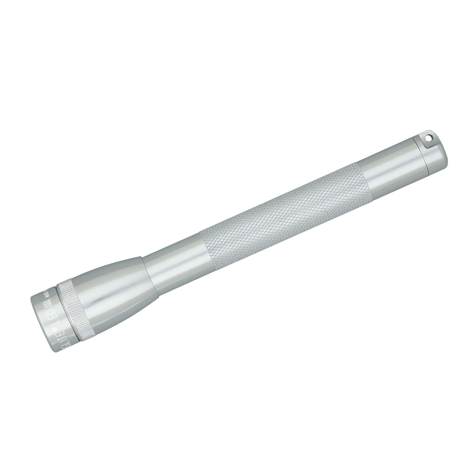 Silberne Mini-Maglite AAA LED-Taschenlampe