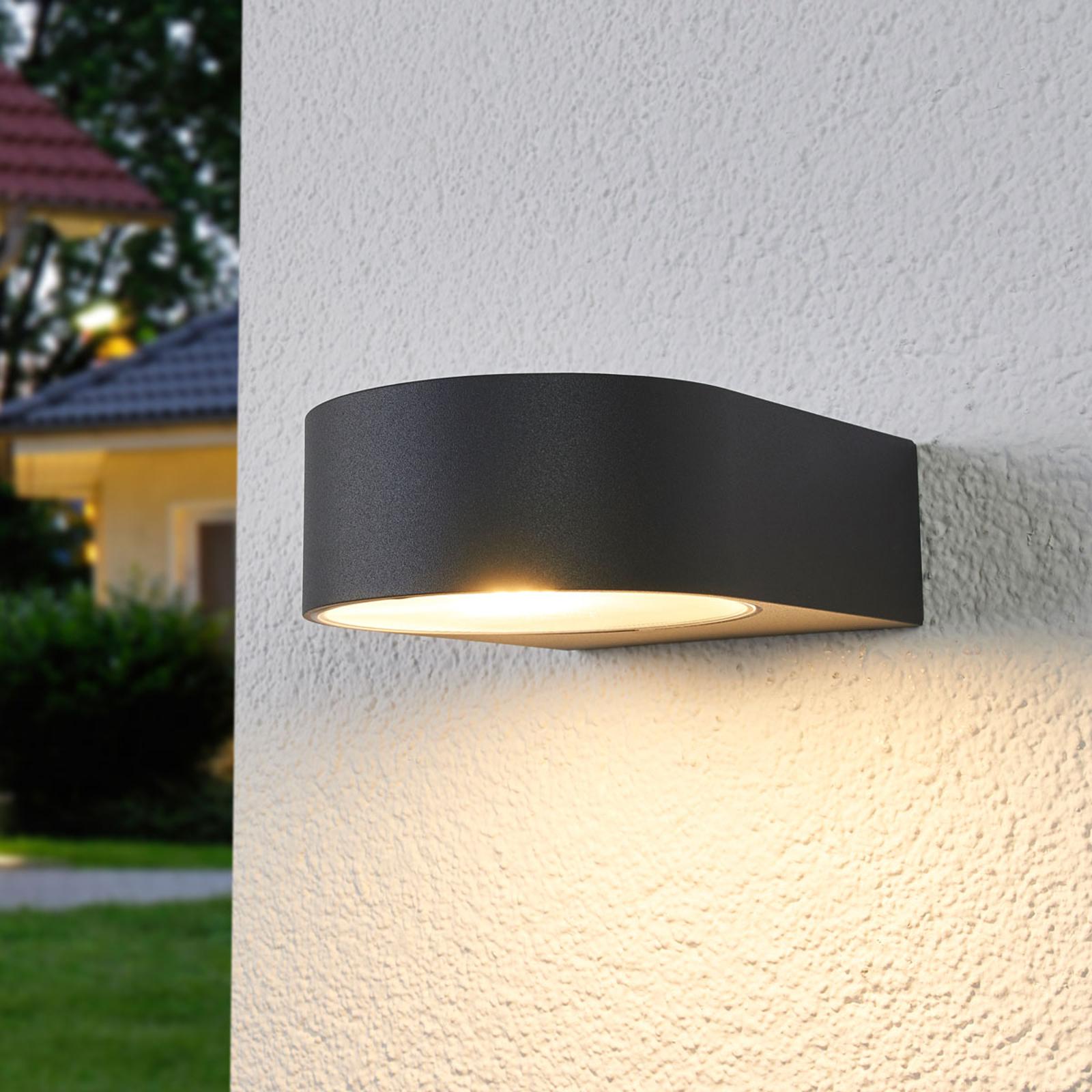 BEGA 33224K3 wall lamp graphite 3,000 K 1-sided_1566020_1
