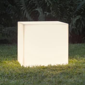 Terasové světlo Gardenlight, krychle