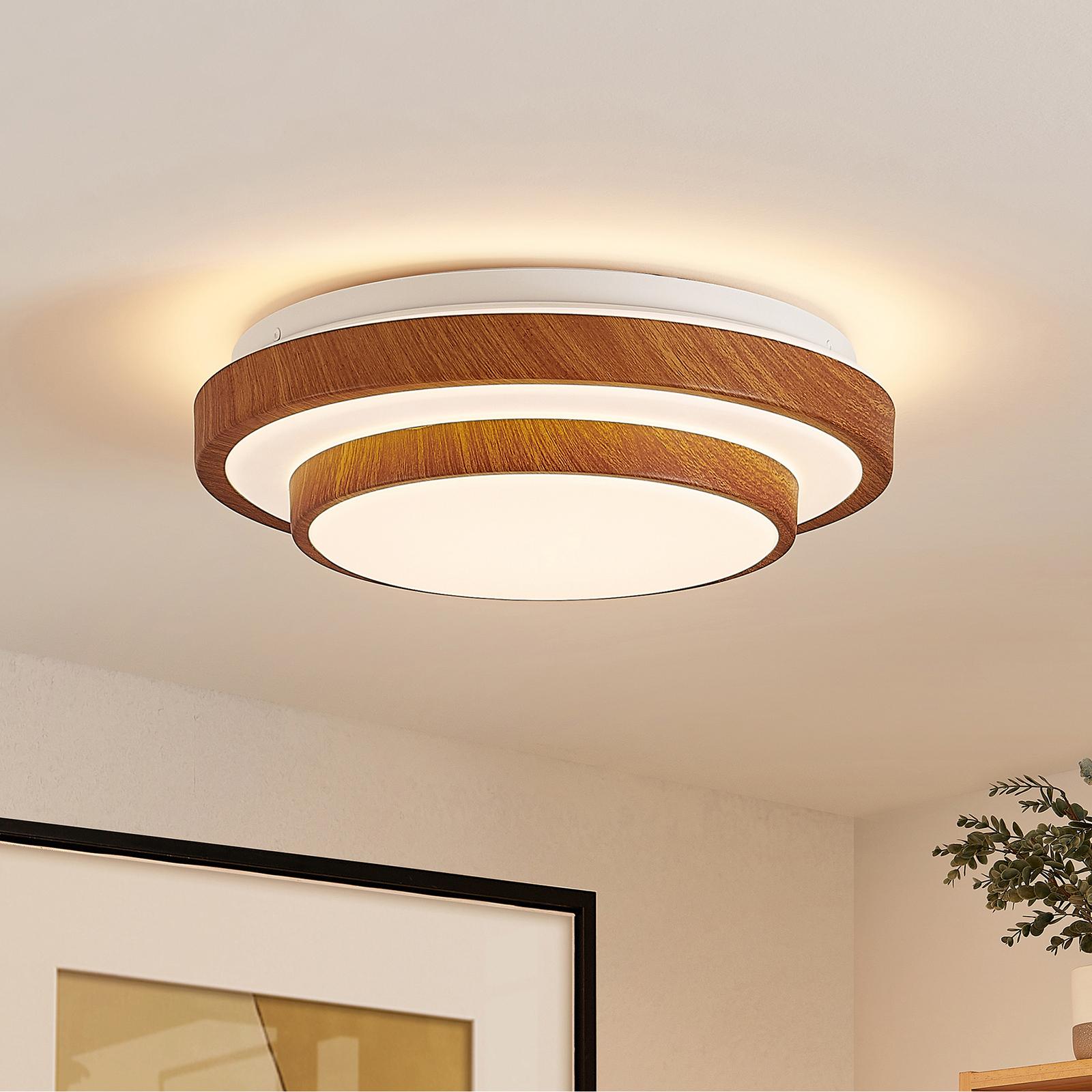 Lindby Vaako LED-Deckenleuchte, rund, 29,5 cm