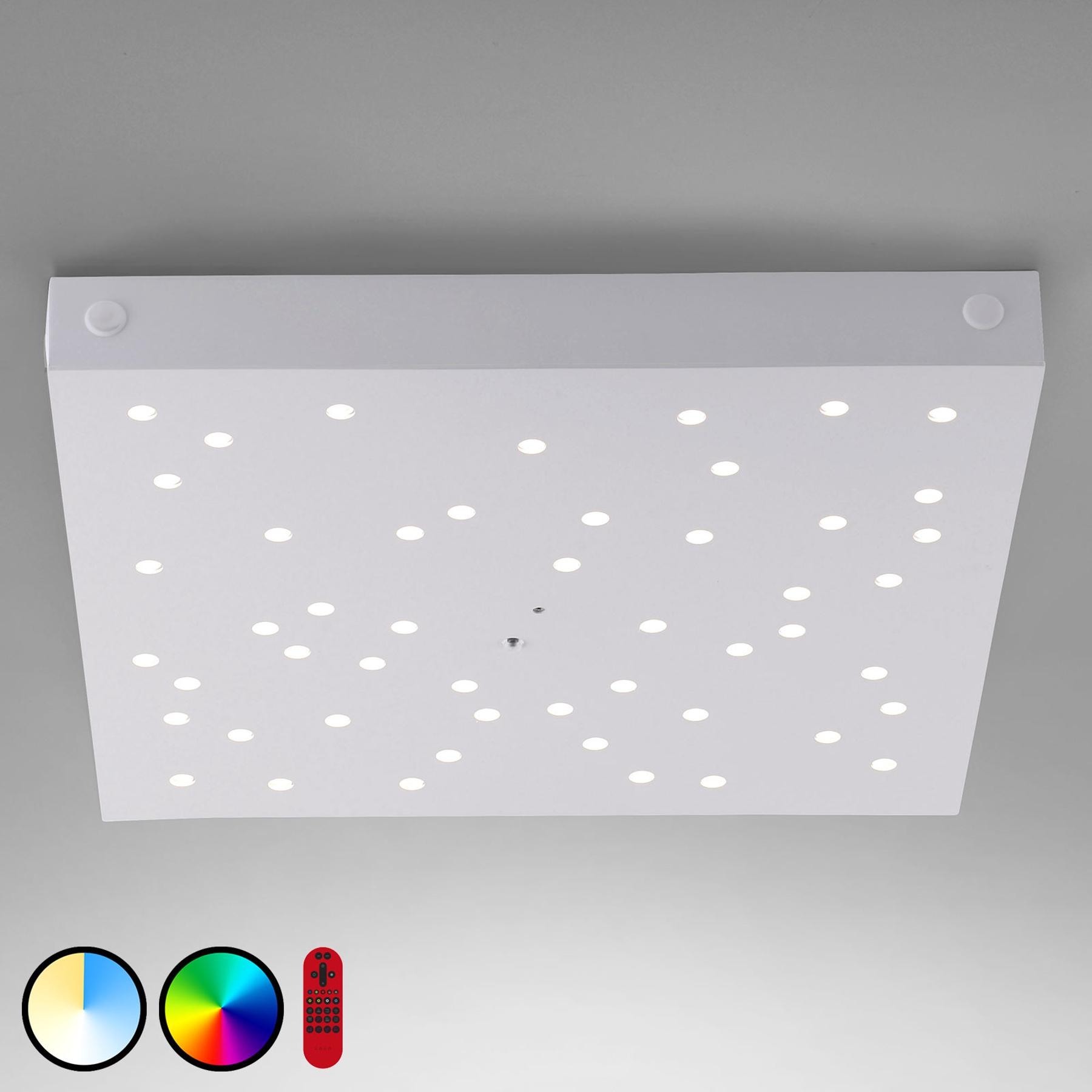 LED plafondlamp LOLAsmart Stars, 36 x 36 cm