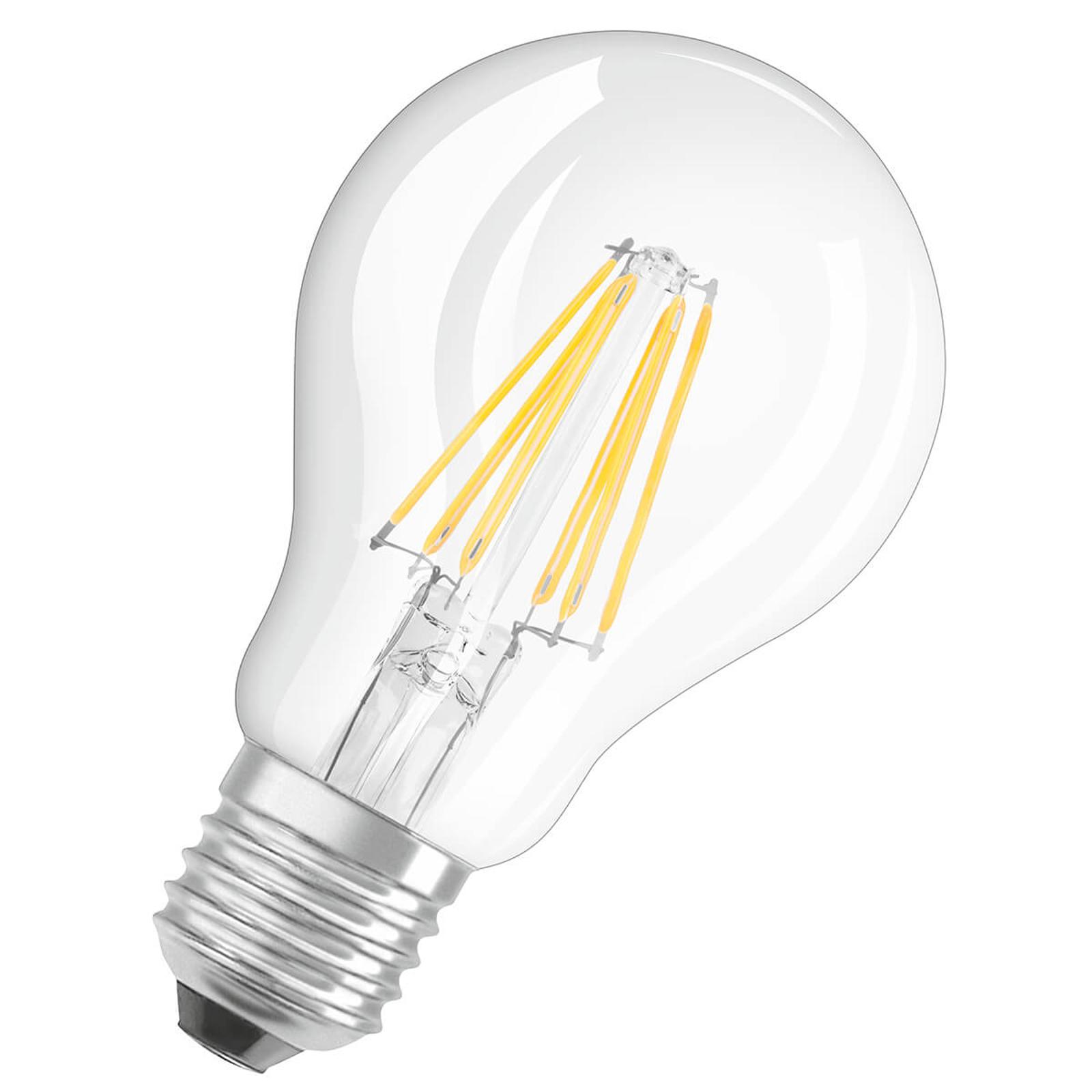 OSRAM LED-Lampe E27 7W warmweiß GLOWdim klar