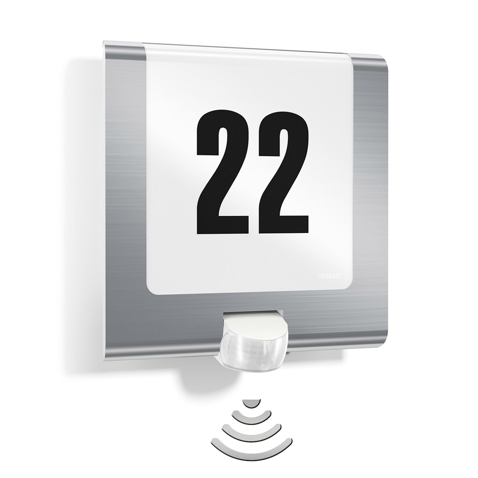 Lampada STEINEL L220 per numeri civici con sensore