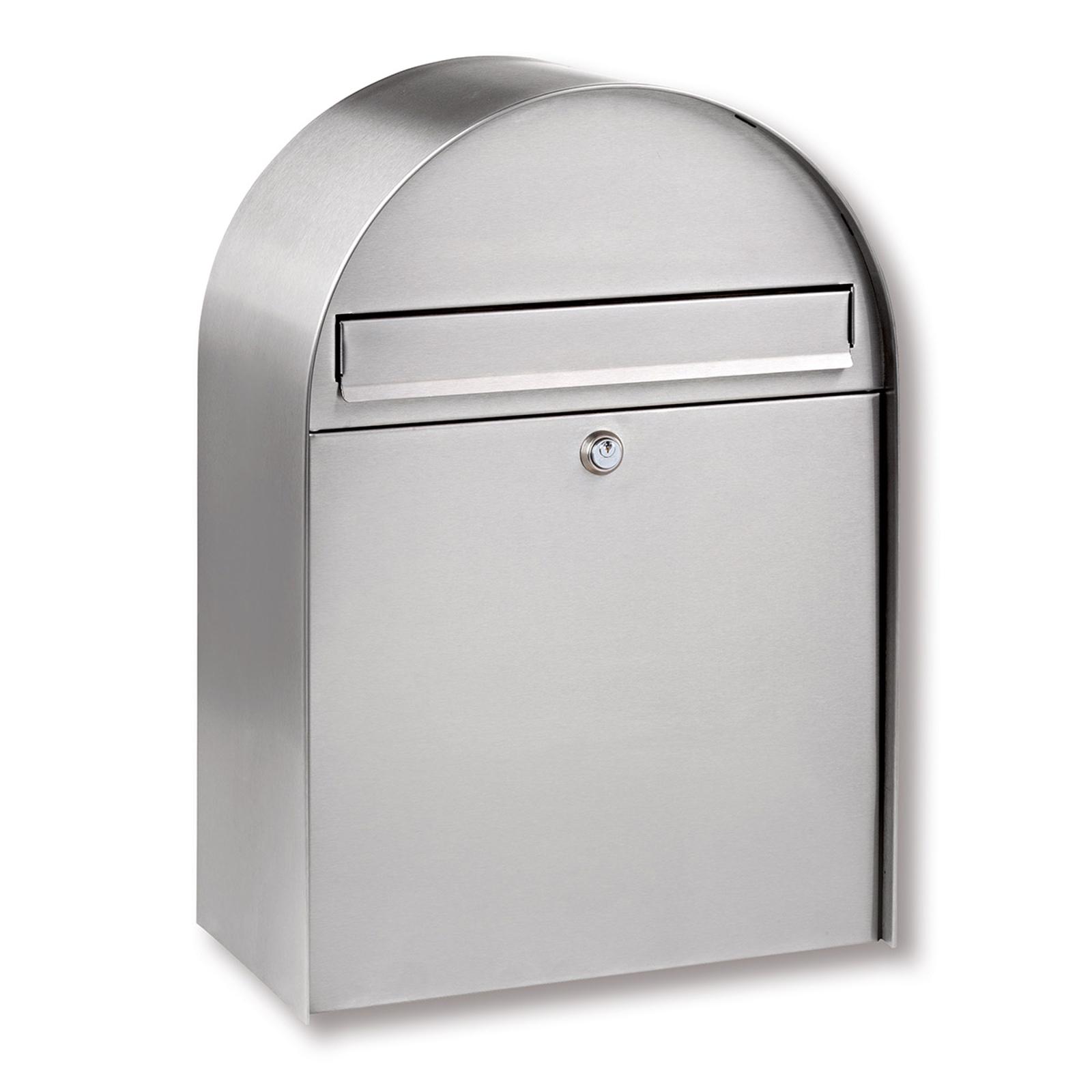 Velká nerezová poštovní schránka Nordic 3780 Ni