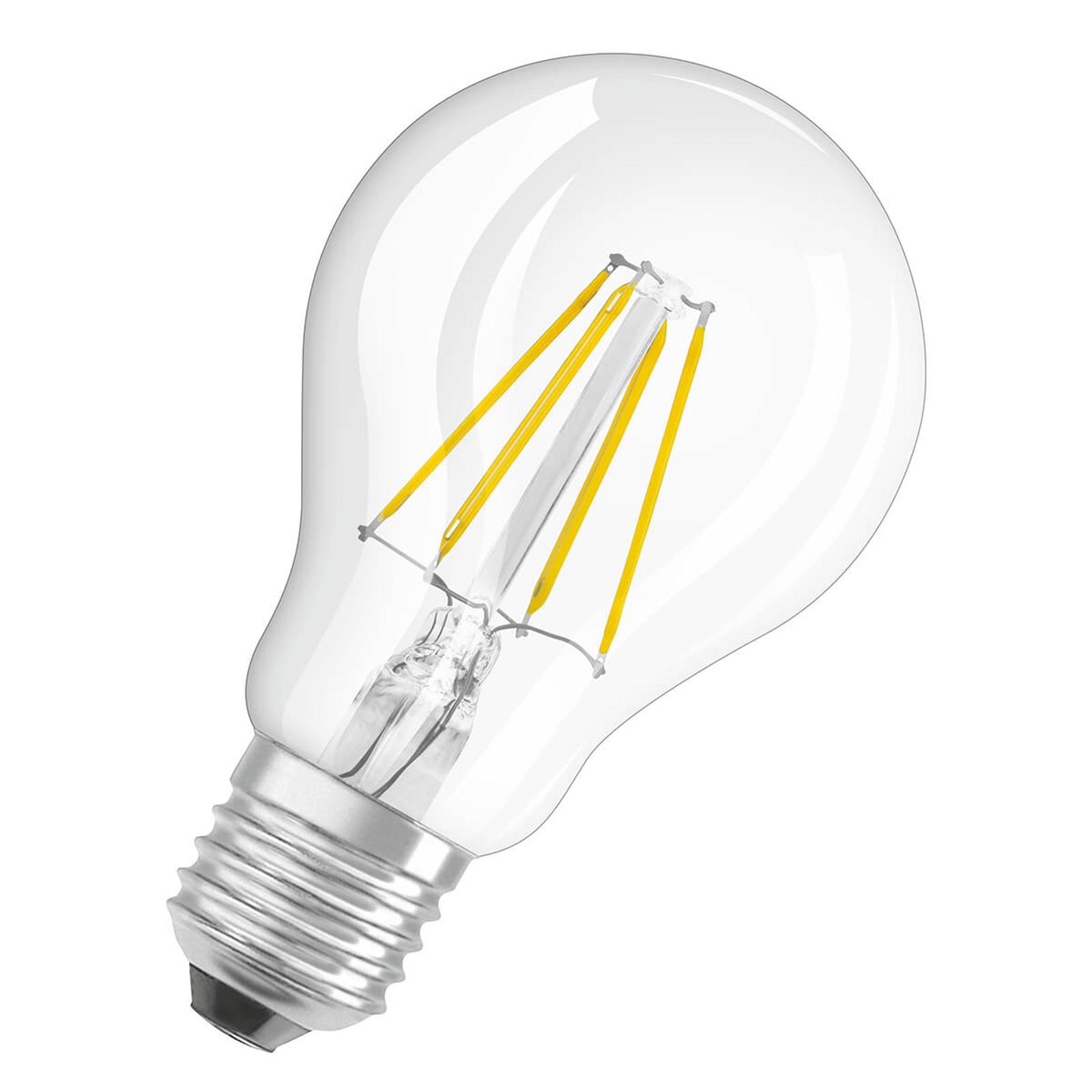 OSRAM LED-Lampe E27 4W Filament 4.000K klar