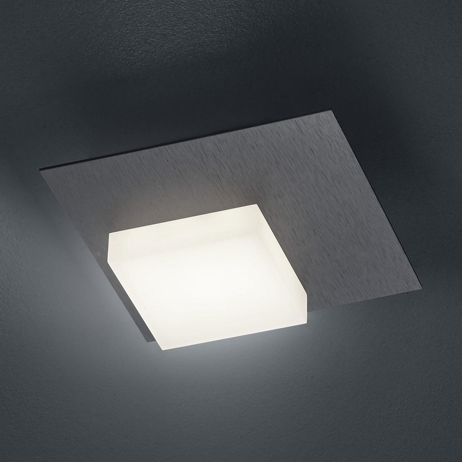 BANKAMP Cube lampa sufitowa LED 8W, antracyt