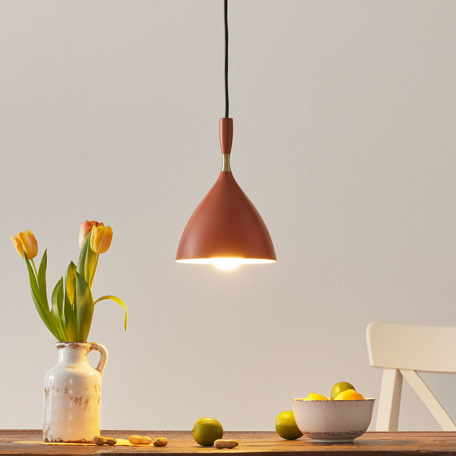 Northern suspension Dokka couleur rouille