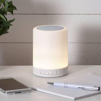 Lámpara de mesa LED 362-81 con RGBW y altavoz