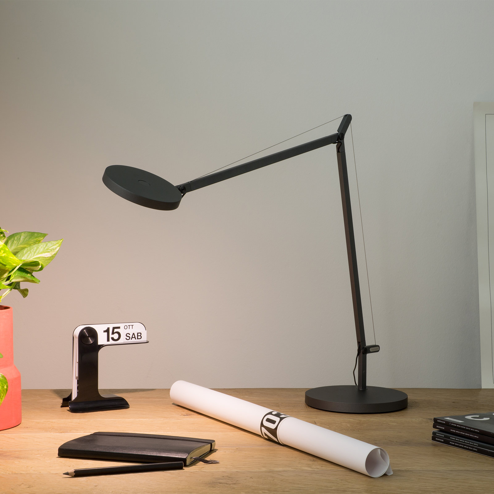 Artemide Demetra Professional bordslampa grå