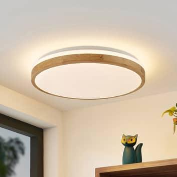 Lindby Emiva LED-Deckenlampe, Lichtstreifen oben