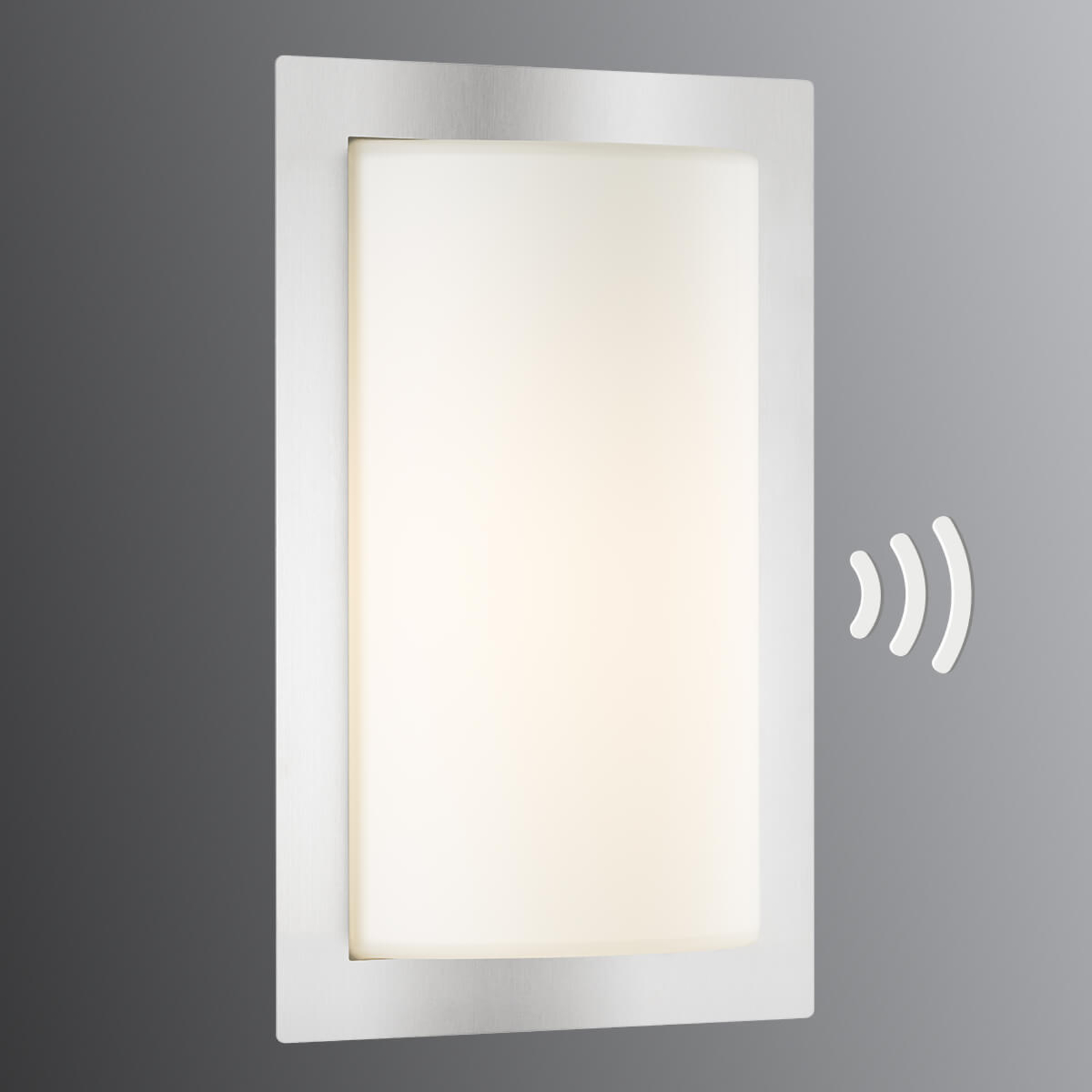 Moderne sensor-buitenwandlamp Luis