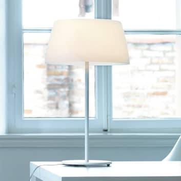 Prandina Ginger T30 lampe à poser blanche, Ø 36 cm