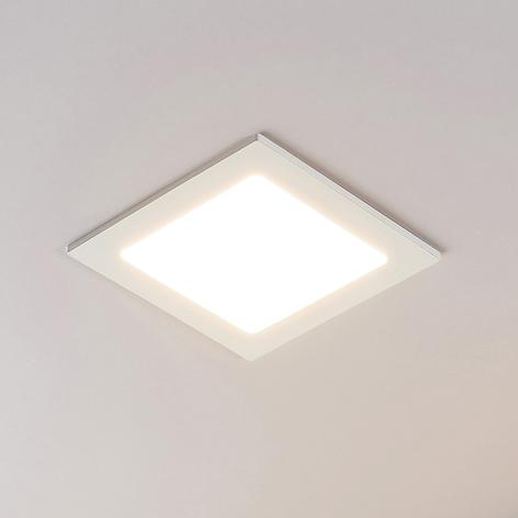 LED-Einbaustrahler Joki weiß 3000K eckig 17cm
